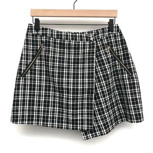 Cotton Candy LA Black Plaid Skirt - Size L